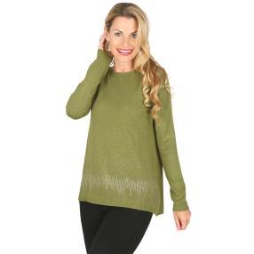 Damen-Pullover 'Romy' apfelgrün