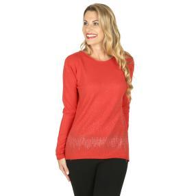 Damen-Pullover 'Romy' koralle