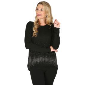 Damen-Pullover 'Romy' schwarz