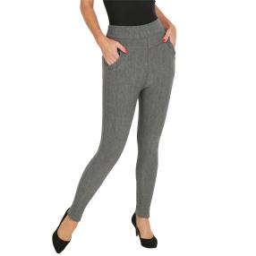 FASHION NEWS Thermo-Fleece-Leggings grau