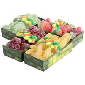 Fruchtkörbchen 4er Set
