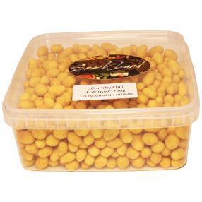 Crunchy Erdnüsse Chily 750g