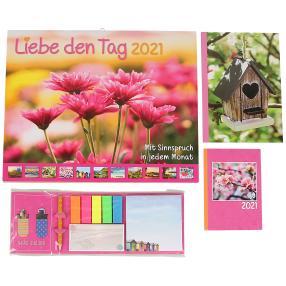 Kalenderpaket 2021 Liebe den Tag
