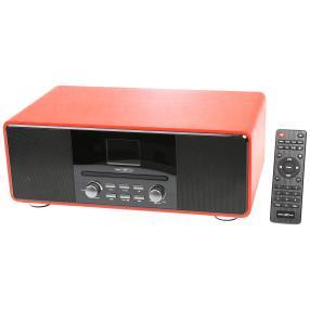 DAB+ Radio m. Bluetooth, rot