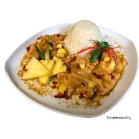 Putencurry Asia mit Reis