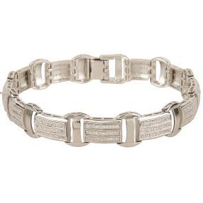 Armband 925 Silber rhodiniert Zirkonia
