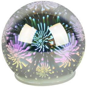 LED-Glaskugel Feuerwerk 3D