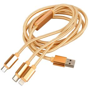 Clever Wounder Multi-USB-Kabel 3in1