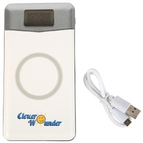 "Clever Wounder Power Bank ""Magic"", weiss"