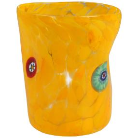 Murano Glas Goto Venezia giallo, Ø 9 cm