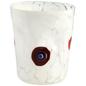 Murano Glas Goto Venezia bianco, Ø 9 cm