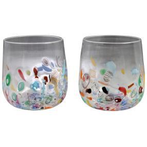 Murano Gläser Acquario 2er-Set