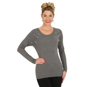 TRENDS by J. Leibfried Pullover anthrazit melange
