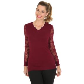 TRENDS by J. Leibfried Pullover bordeaux