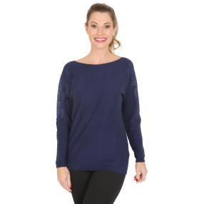 TRENDS by J. Leibfried Pullover marine