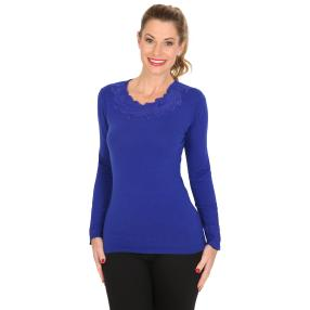 TRENDS by J. Leibfried Pullover royalblau