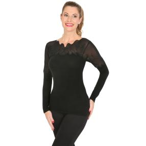TRENDS by J. Leibfried Pullover schwarz