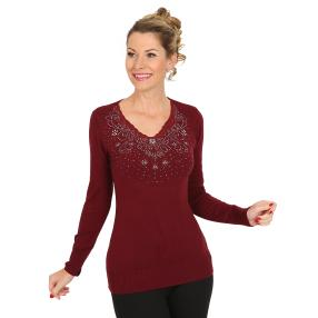 TRENDS by J. Leibfried Pullover barolo
