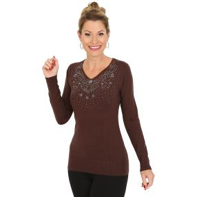 TRENDS by J. Leibfried Pullover schokolade