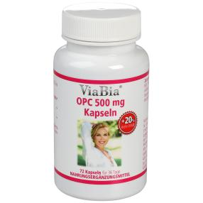 ViaBia OPC 500 mg Kapseln