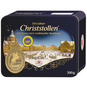 Dresdner Christstollen in der Blechdose 500g