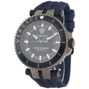 "Versace Herrenuhr ""V-Race"" Quarz blau"