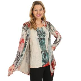 VV by J. Leibfried  2 in 1 Shirt 'Viv' multicolor
