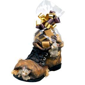 Riesen Katzen-Schuh mit Old English Fudge