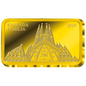 Goldmünze Sagrada Familia II