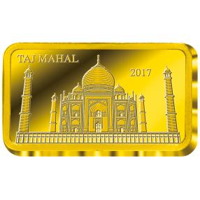 Goldbarren Taj Mahal