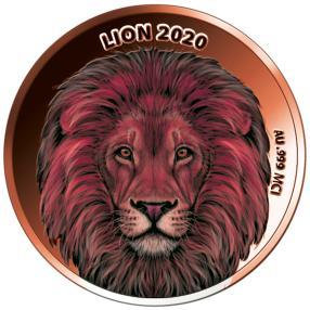 Rotgold Klassiker Löwe 2020