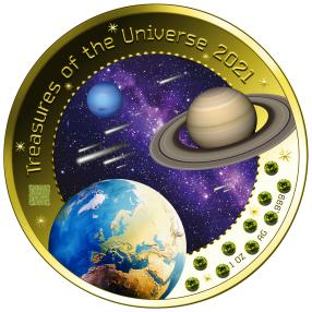 Treasures of the Universe V., mit Pallamanten