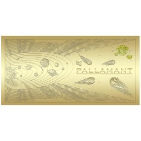 Goldbanknote Pallamant / Universe