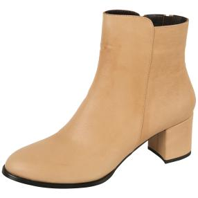 CALVIN SMITH Damen-Lederstiefeletten