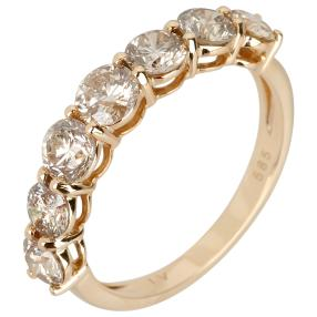 Ring 585 Gelbgold Artic Diamanten