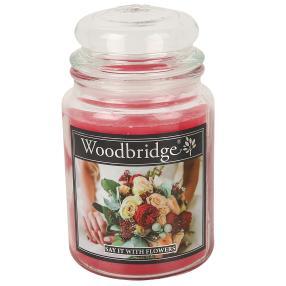 Woodbridge Duftkerze Blumen 565g