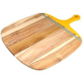 JAMIE OLIVER Pizzaschneidebrett gelb