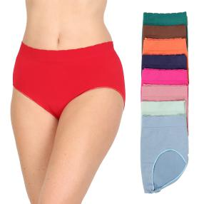 9er Pack Damen-Slip multicolor