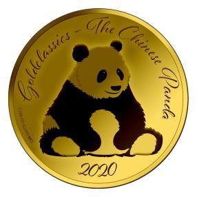 """Großer Goldklassiker """"Panda"""""""