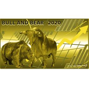 1G Goldbarren Bull & Bear 2020