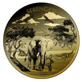 5 KG Münze Serengeti Tierwelt
