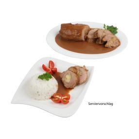 Schweinefilet mit Mozzarella