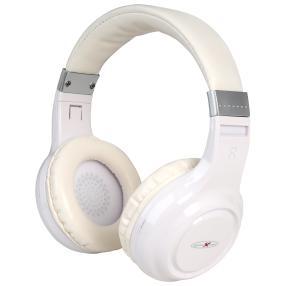 Bluetooth Kopfhörer mit Freisprechfunktion, weiß
