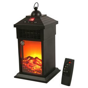 LED-Heizlüfter mit Flammeneffekt & Fernbedienung