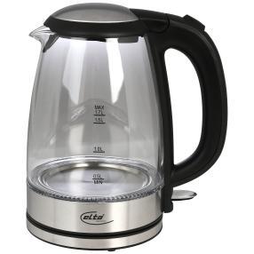 Elta Glas Wasserkocher 1,7 l Premium 2200 Watt