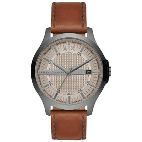 "Armani Exchange Herrenuhr ""AX2414"", Quarz, beige"