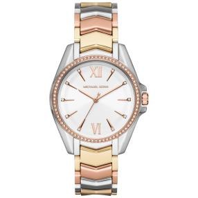MICHAEL KORS Damenuhr, Quarz, tricolor