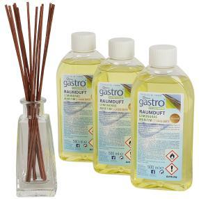 gastro Raumduftset 3x 500 ml, Lemongras-Maritim