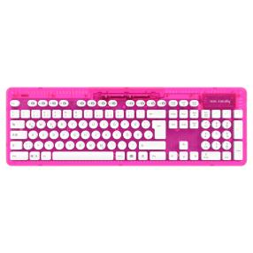 PC Wireless Tastatur Rock Candy, pink
