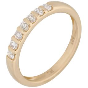 Ring 585 Gelbgold Brillant
